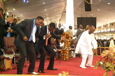 Image result for image of Bishop Oyedepo dancing