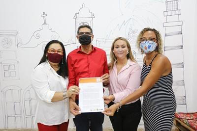 João Paulo firma compromisso com entidades de defesa dos Direitos Humanos