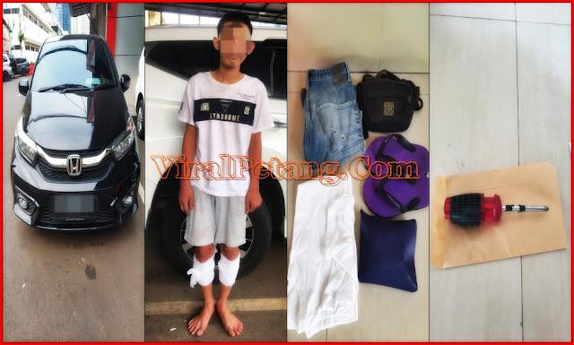 Terungkap Kasus Pencurian Mobil dengan Kekerasan Di Pulo Gadung, Jaktim