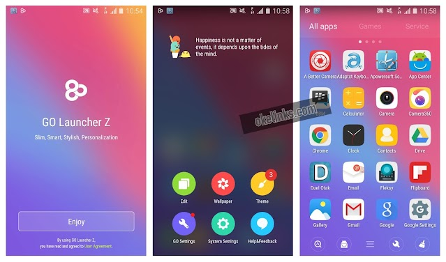 Download go launcher android apk
