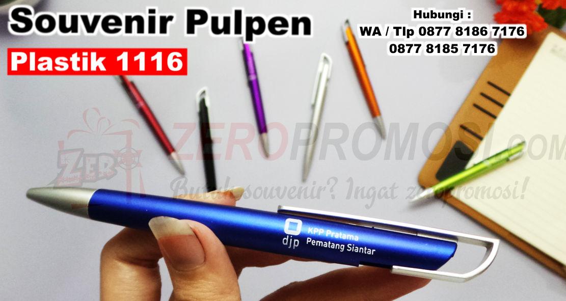 Souvenir Pulpen Promosi Pen 1116, PULPEN PROMOSI TIPE 1116, Souvenir pen 1116, Pulpen Pen Bolpoin 1116 Untuk Promosi Dan Souvenir, zeropromosi, souvenir kantor, barang promosi