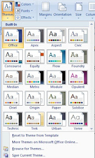 How to Use Theme and Style option in Microsoft Word in Hindi