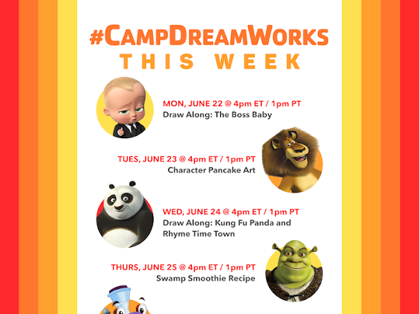 Bring Summer Camp Home with Camp DreamWorks