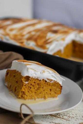 Pumpkin Pie Tres Leches Recipe