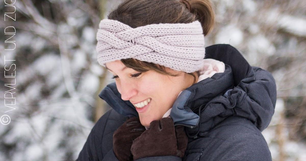 Vervliest und zugenäht: Stirnband Lina