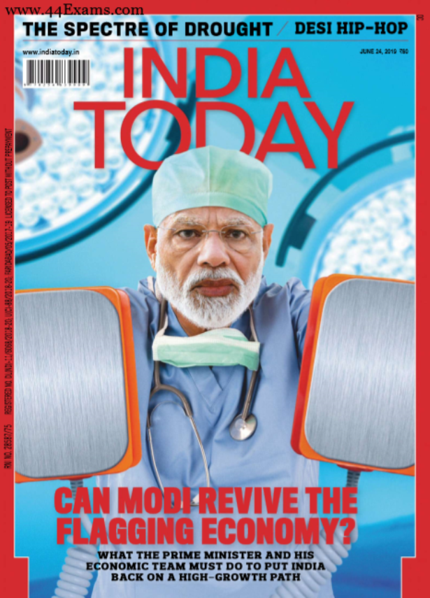 India Today June 2019 Current Affairs : For All Competitive Exam PDF Book