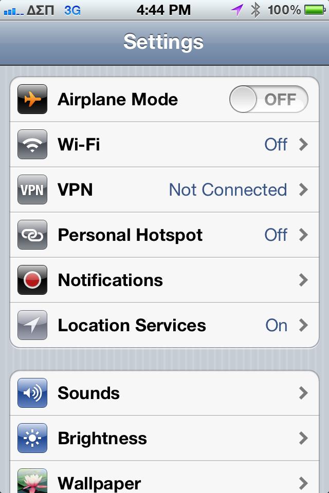 Vpn for 936 modem