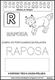 Bichonário desenho de raposa