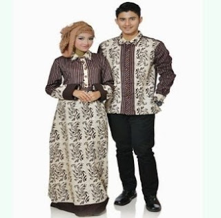Batik Couple Pesta Terbaru