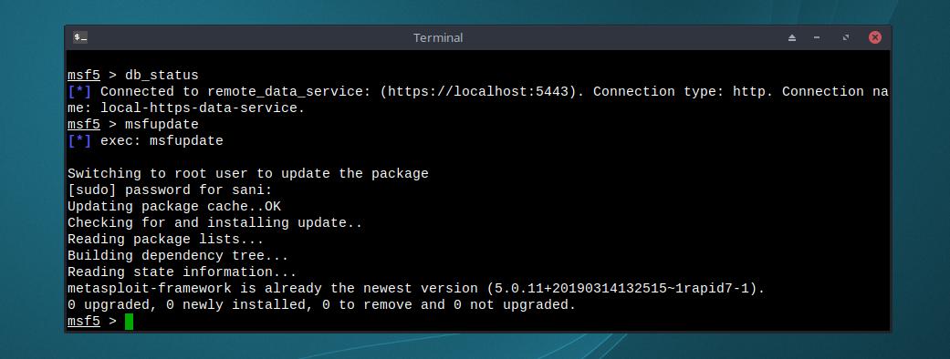 Install Metasploit 5 on Ubuntu / Debian 9 / MX Linux / Linux