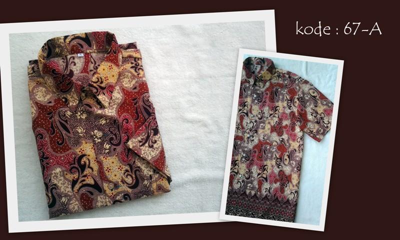 Kemeja Batik 67A a0c9e80272