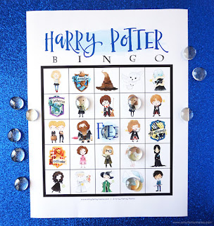 free printable Harry Potter Bingo