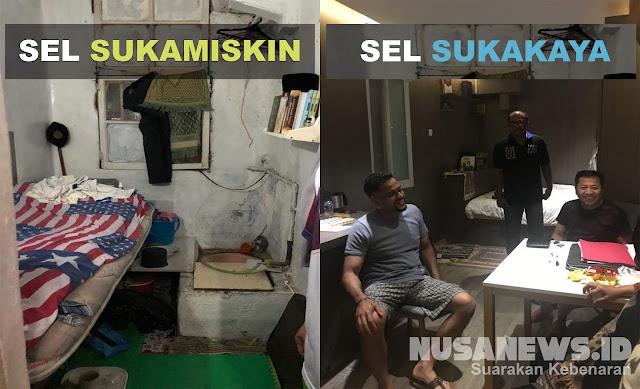 Ombudsman: Sel Setya Novanto di Lapas Sukamiskin Lebih Luas