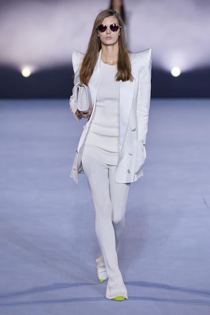 SS21, Fashion Show, Monochrome, trend report, fashion week, nyfw, Nyc, kelly fountain fashion Balmain