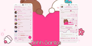 Love & Teddy Bear Theme For YOWhatsApp & Fouad WhatsApp By Driih Santos