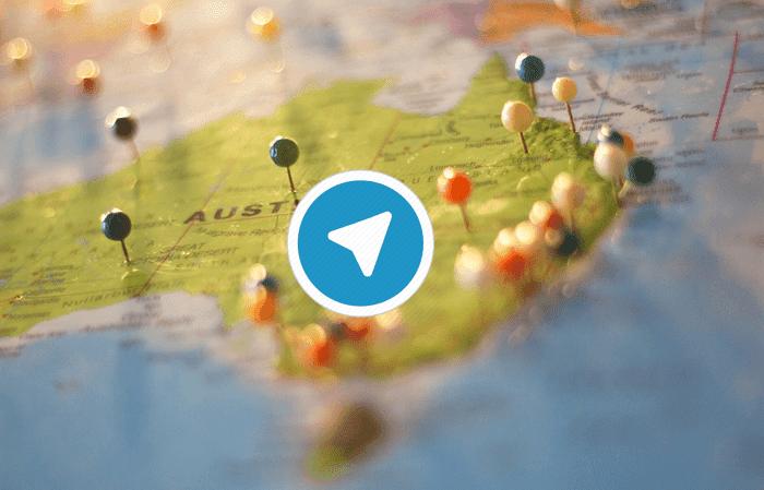 Cara Berbagi Lokasi Langsung di Telegram Android