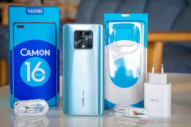 The Tecno Camon 16 Premier In For Review