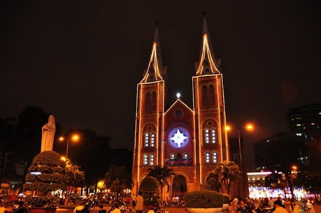 5 churches in Ho Chi Minh city for you to check-in on Christmas