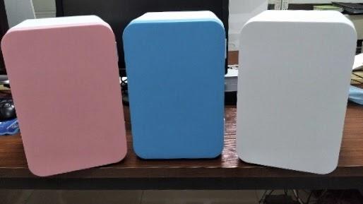 【新品發售】Aiyo0o 迷你雪櫃 8L 夠凍 8 罐啤酒、汽水、飯盒