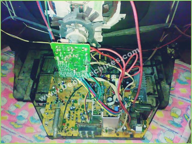 Perbaikan Kerusakan Lampu Indikator berkedip Cepat, Standby TV Polytron 29 (Model: PS 30UV26RA)