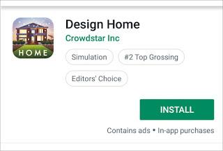 Aplikasi untuk mendesain rumah
