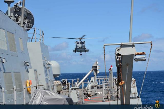 La fragata 'Blas de Lezo' se integra en el Mando de Defensa y Operaciones Aéreas (MDOA)