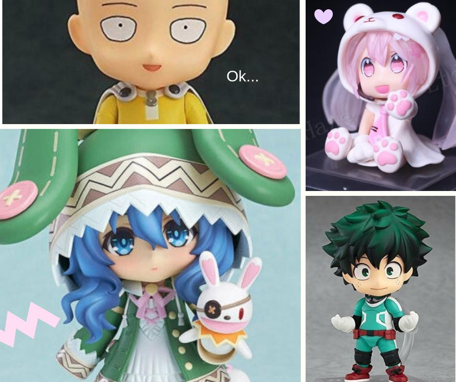 Wishlist Ebay: Nendoroids fofos de animes