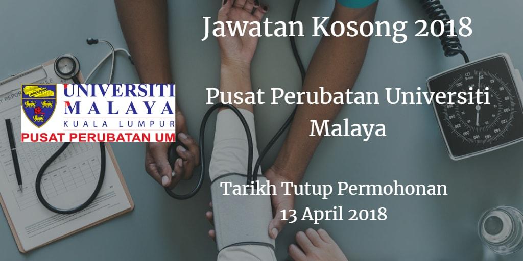 Jawatan Kosong PPUM 13 April 2018