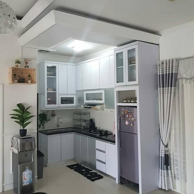 desain dapur minimalis modern kece