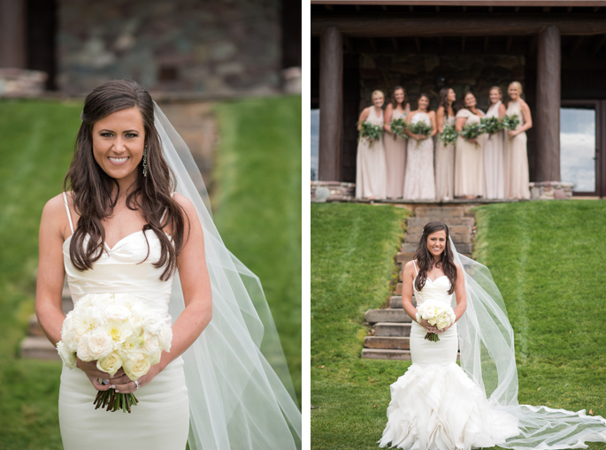 Montana Bride / Photography: Kelly Kirksey Photography / Planner: Tanya Gersh Events / Florist: Mum's Flowers