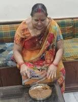 Shivam dube mother