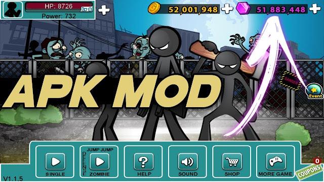 Download Anger Of Stick 5 Mod Apk Terbaru