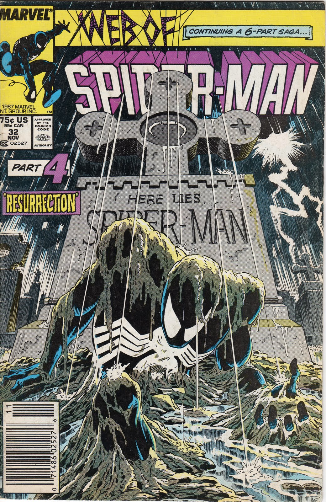 Man 32 Indicted In Alleged Misconduct With 14 Year Old: Sixeightbp: Web Of Spider-Man #32