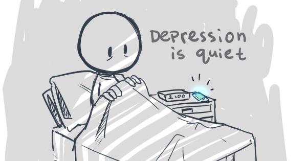 Teaching High School Psychology: Depression Cartoon