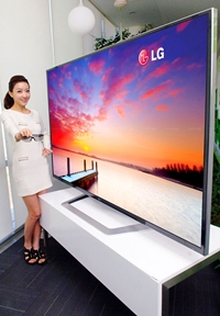 worlds Biggest 84 Inches Ultra Definition 3D TV