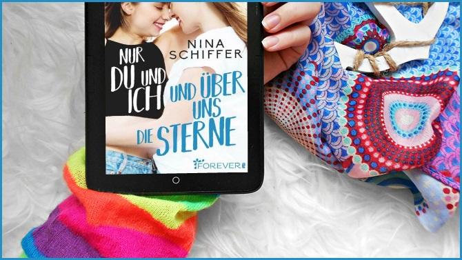 Zitat zum Sonntag ZzS Nur du und ich und über uns die Sterne Nina Schiffer FOREVER Ullstein LGTBQI