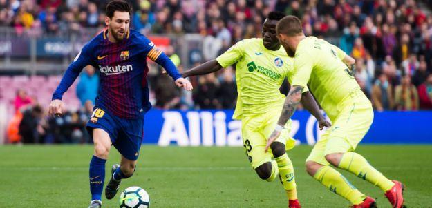 مشاهدة مباراة برشلونة وخيتافي بث مباشر