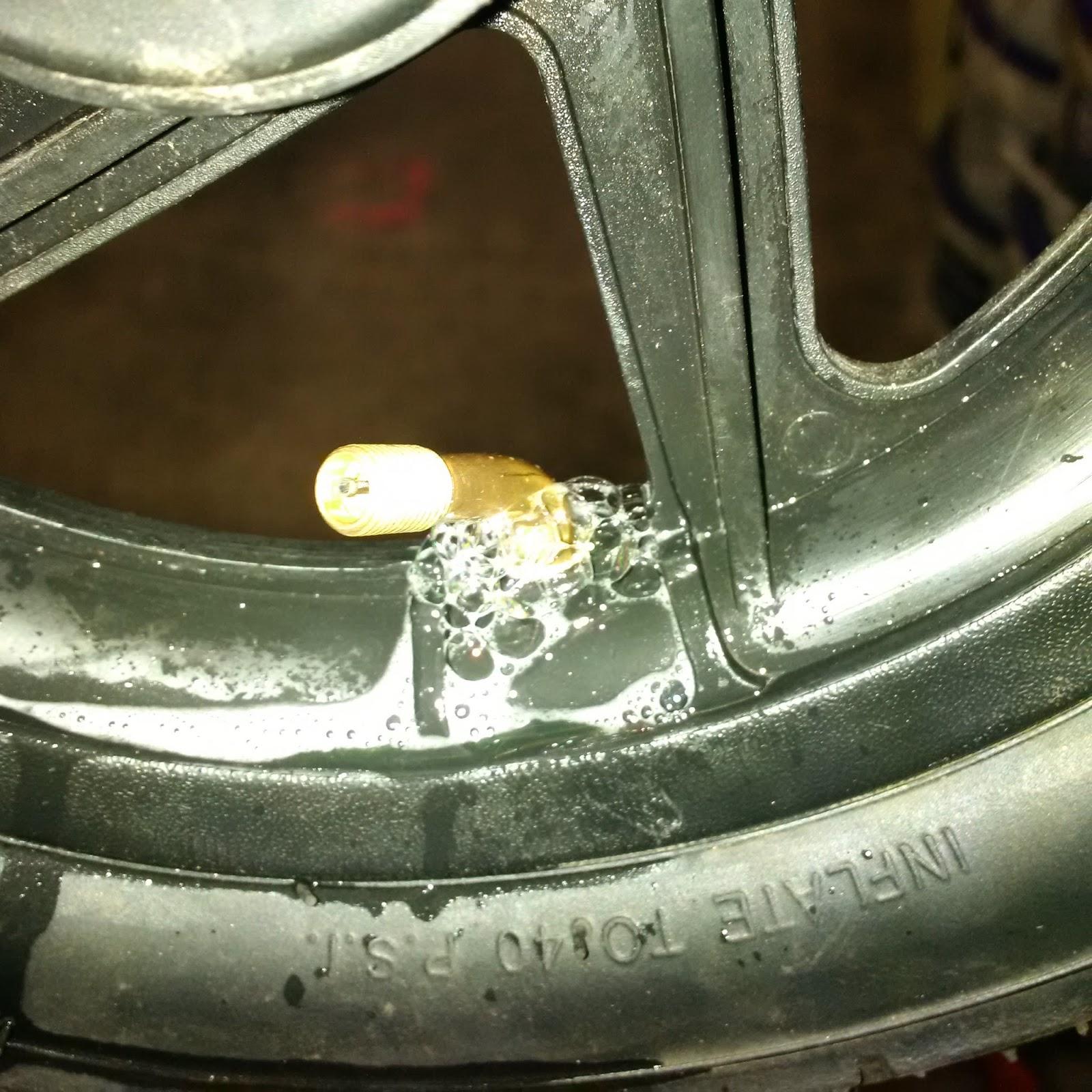 Fix Tire Leak Around Rim