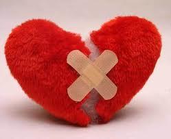 trái tim, tan vỡ, băng gạc, nỗi buồn