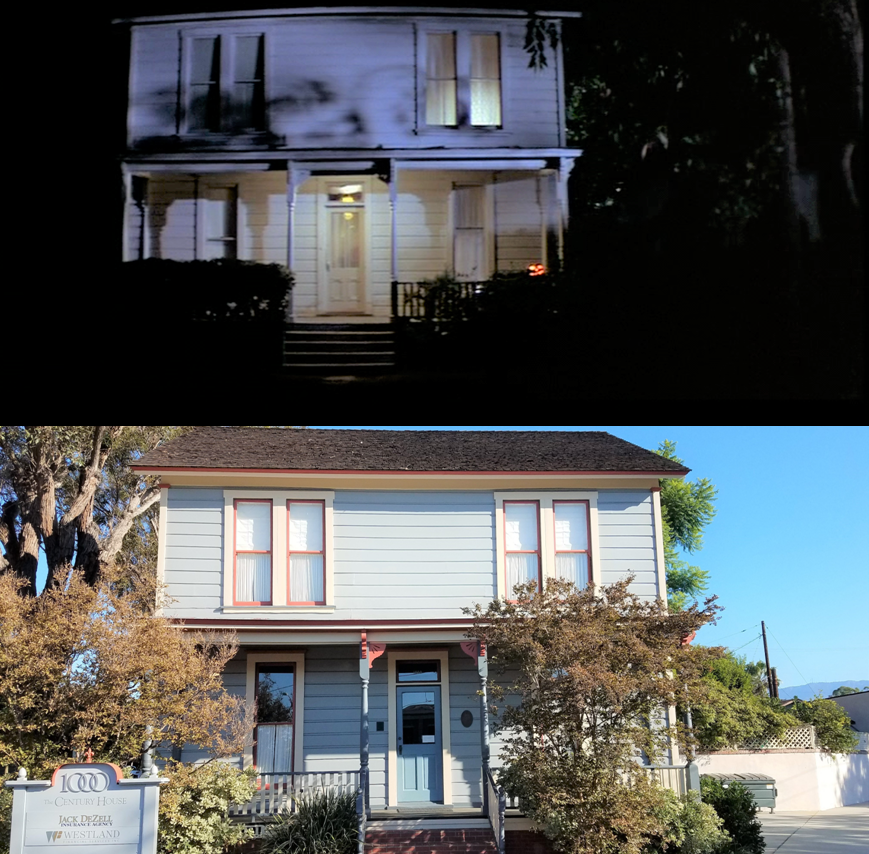 Halloween 2020 Lauries House Then & Now Movie Locations: Halloween (1978)