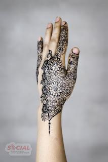 Floral Mehndi Designs 2019