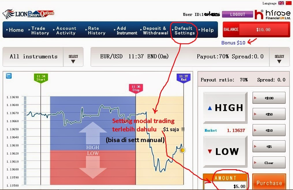 Cara trading forex menggunakan di binary.com