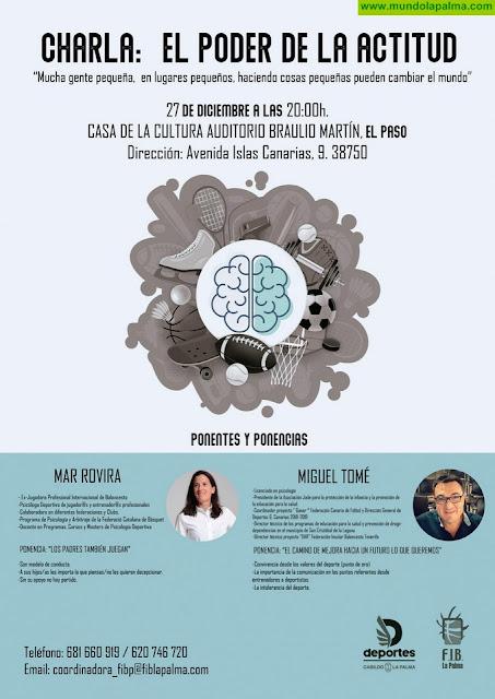 El Cabildo y la Federación Insular de Baloncesto organizan el programa de charlas 'El poder de la actitud'