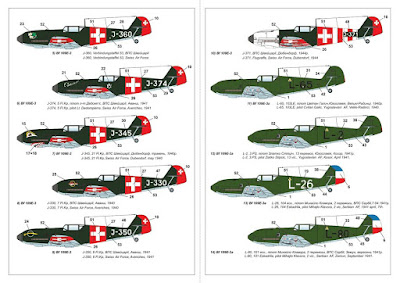 "AR14306 - 1/144 Messerschmitt Bf 109E ""Foreign Service Aces"", Pt.1 picture 5"