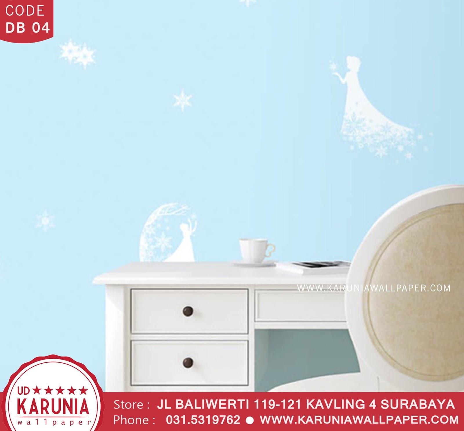 jual wallpaper anak frozen surabaya