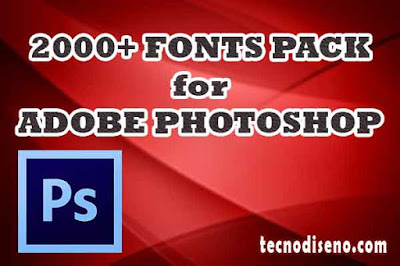 fonts pack photoshop download