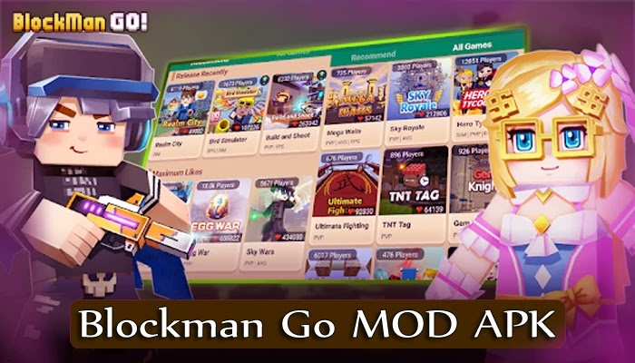 Blockman Go MOD APK v1.11.37 Unlimited Money, Bcubes