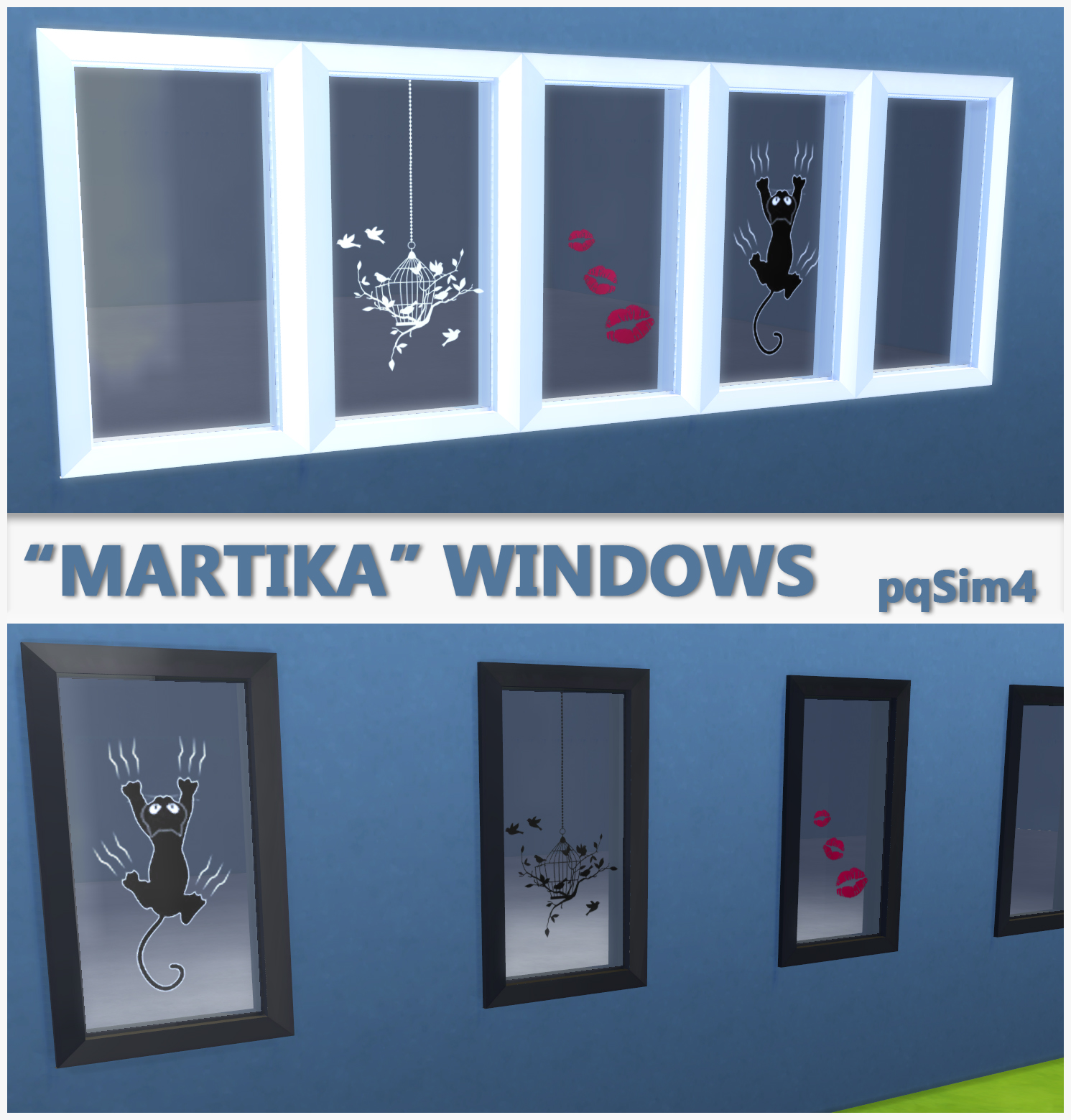 """Sims 4 Cc S The Best Windows By Tingelingelater: """"Martika"""" Windows. Sims 4 Custom Content"""