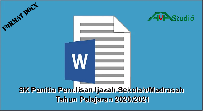 SK Panitia Penulisan Ijazah Sekolah/Madrasah