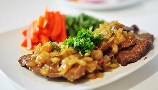 Resep Steak Tempe Enak Dan Sederhana Dengan Sausnya